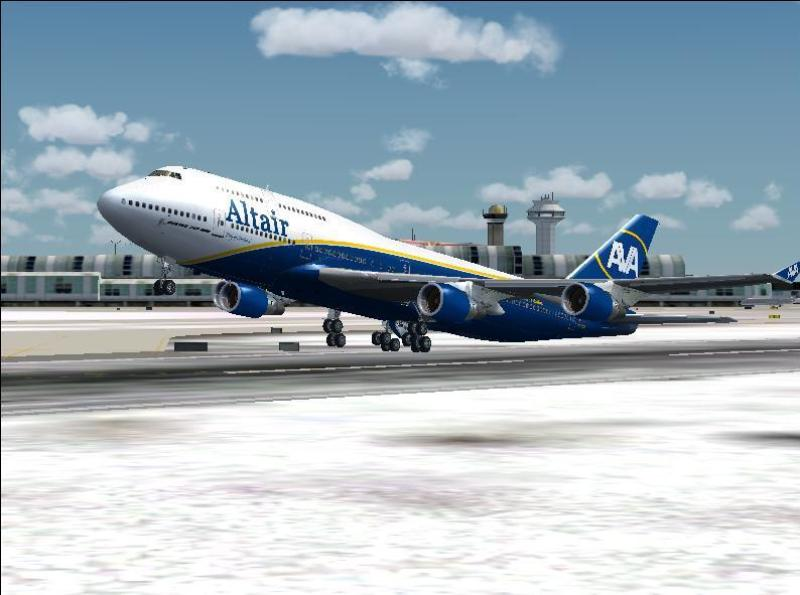 Boeing B747-400 - Altair Virtual Airlines